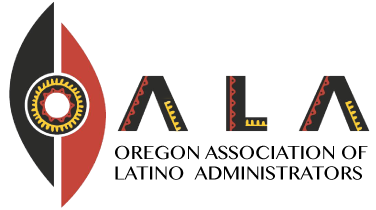 LOGO BAR OALA Oregon Association Latino Administrators education